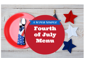My simple 4th of July Menu-2