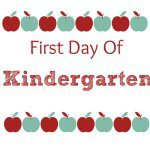 First Day Of School {Free} Printables