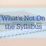 What's Not on the Syllabus