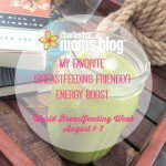 My Favorite {Breastfeeding Friendly} Energy Boost