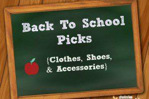 back to school picks
