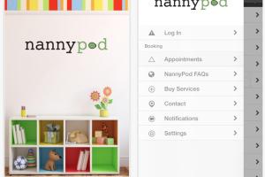 NannyPod App Store 2