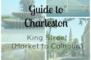 charleston guide- king street