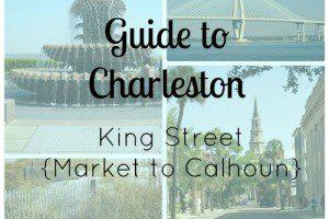 charleston guide- king street