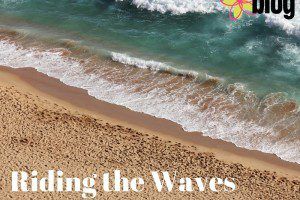 Riding the Waves as a Working SAHM