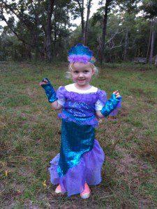 Helen's mermaid Elizabeth