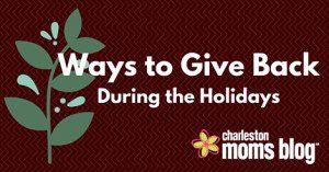 Ways to give back Charleston