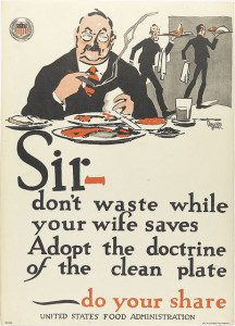 Hoover clean plate club