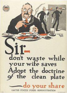 Hoover clean plate club