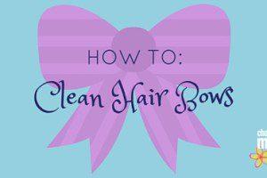 Clean Bows