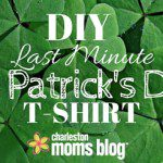 DIY Last Minute St. Patrick's Day T-Shirt