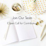 Join Our Team {Open Call for Charleston Moms Blog Contributors}