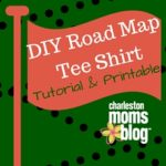 DIY Road Map Tee Shirt Tutorial and Printable