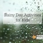 Simple Rainy Day Activities