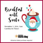 Breakfast with Santa {Event Announcement}