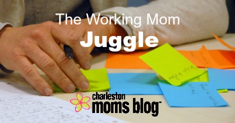 the working mom juggle