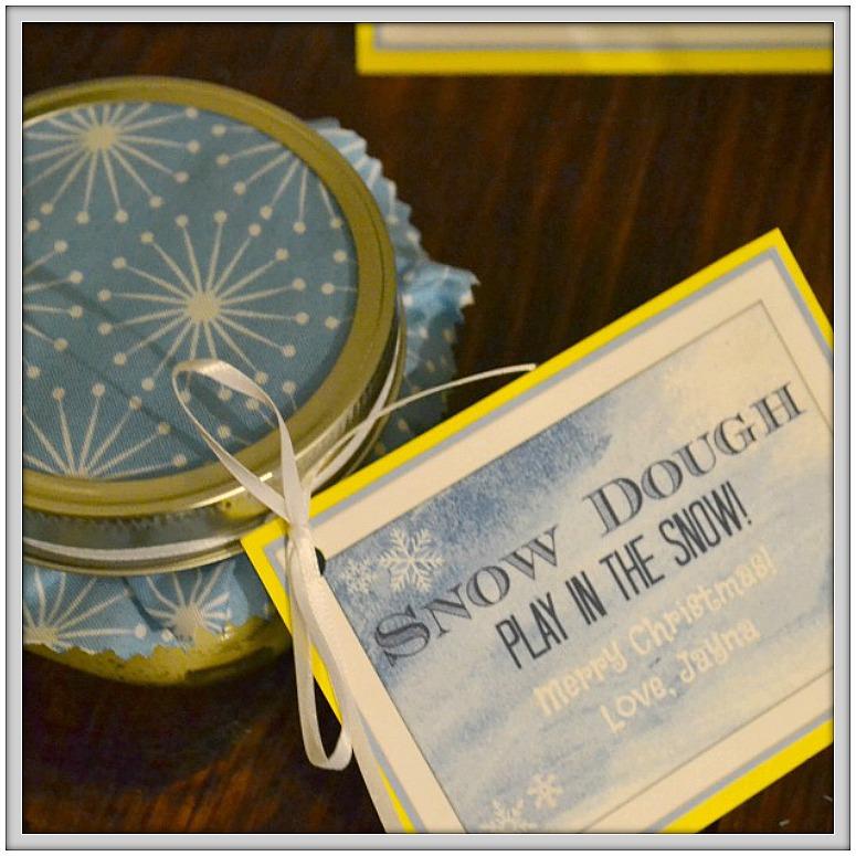 Glittery Snow Dough Recipe