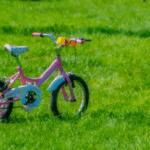 A girl and her bike