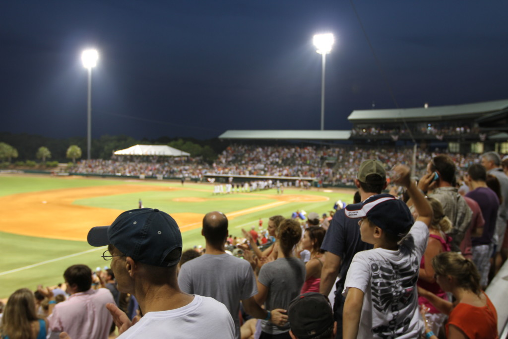 Take me out to the ballgame with the Charleston Riverdogs