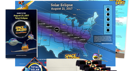 Prepare Your Kids for the Solar Eclipse with Space Racers Eclipse Kits