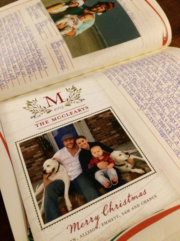 The Family Christmas Book: One book filled with a lifetime of memories