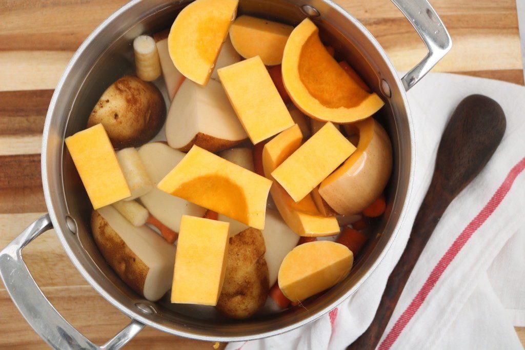 Mashed Root Vegetables