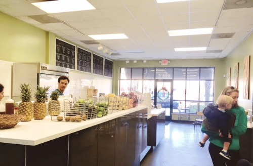 The Main Squeeze at Belle Hall: A Local, Healthy Option for the New Year