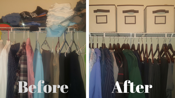 Closet Cleanup: A Father's Day Surprise