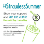 2018 Strawless Summer in Charleston! (A List of Participating Restaurants)