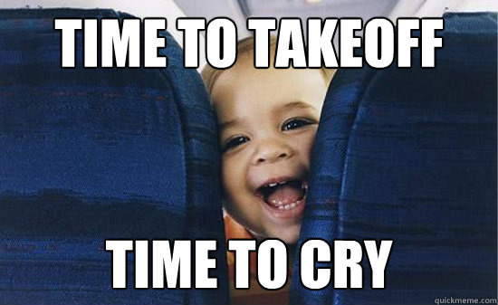 Baby's First Flight: A Tale of Terror