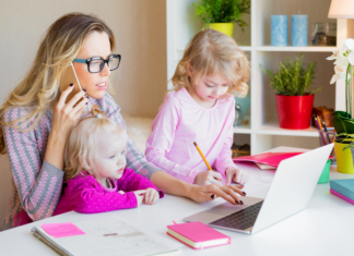 Real Advice from Real Moms_ Working from Home with Kids Charleston Moms