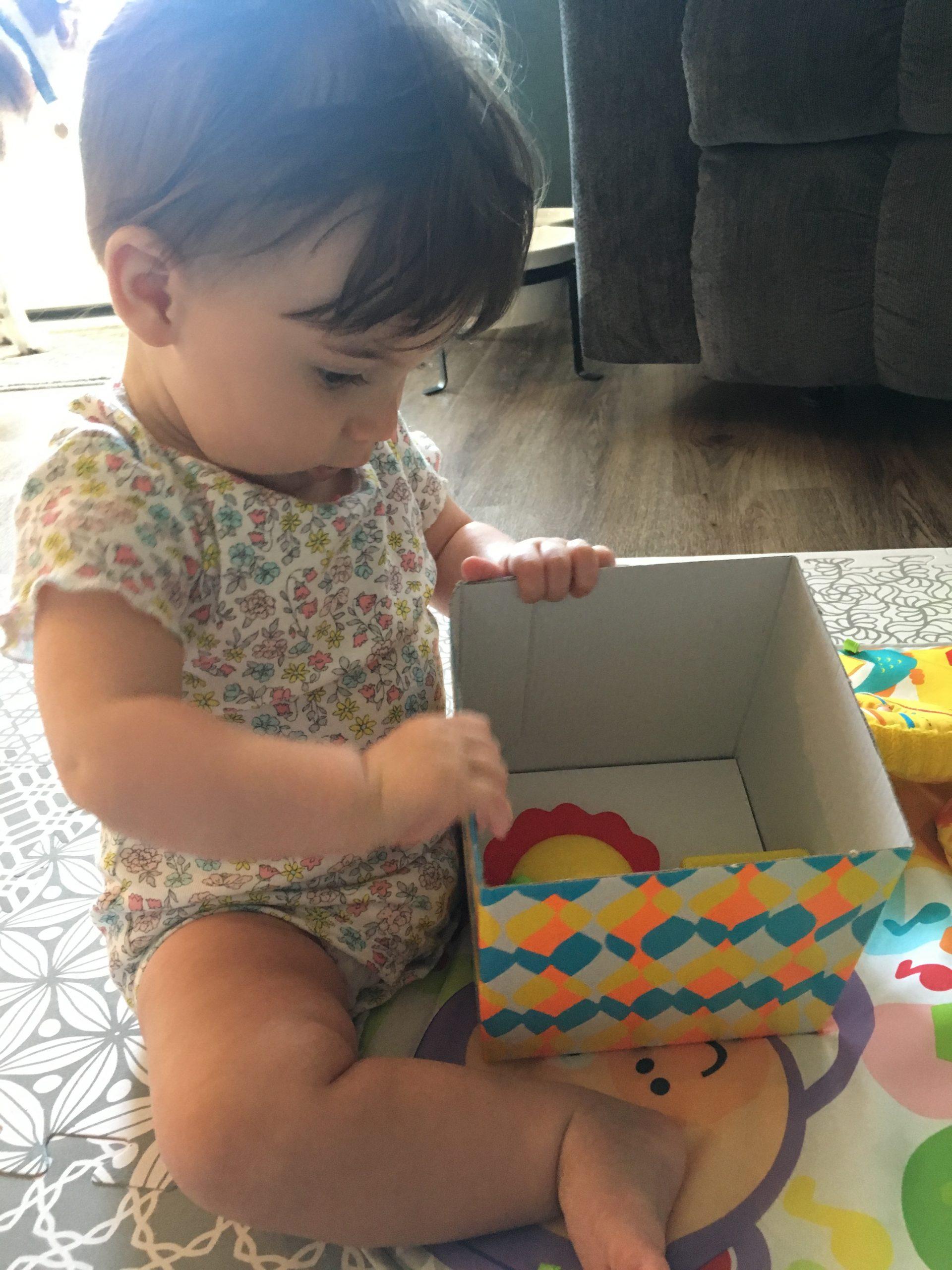 Baby Unpacking Box of Toys