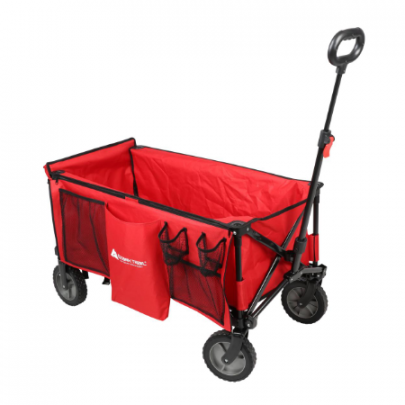 Ozark Trail Utility Wagon with Tailgate & Extension Handle