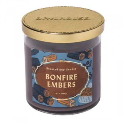 bonfire embers candle