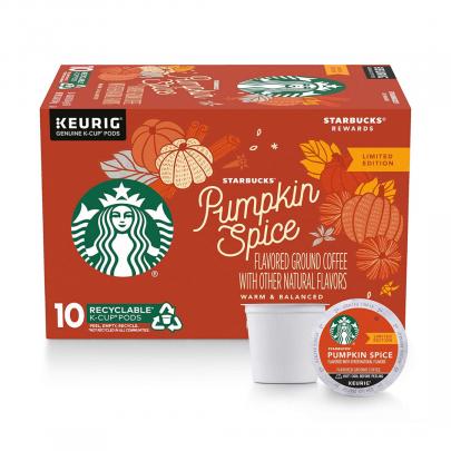 starbucks pumpkin spice coffee