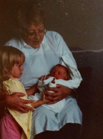 grandma and grandbabies